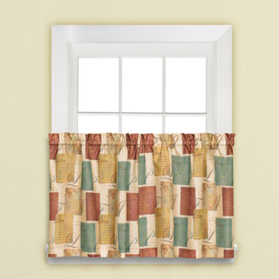 Tranquility Rod-Pocket Window Tiers