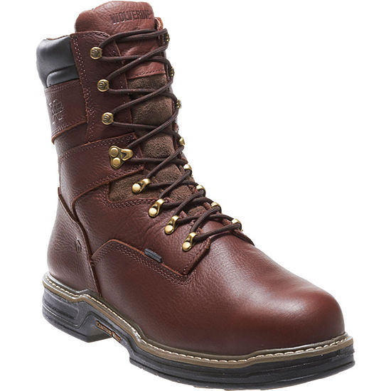 "Wolverine® Darco Waterproof 8"" Steel-Toe EH Mens Work Boots"