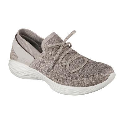 Skechers You Womens Walking Shoes Slip-on