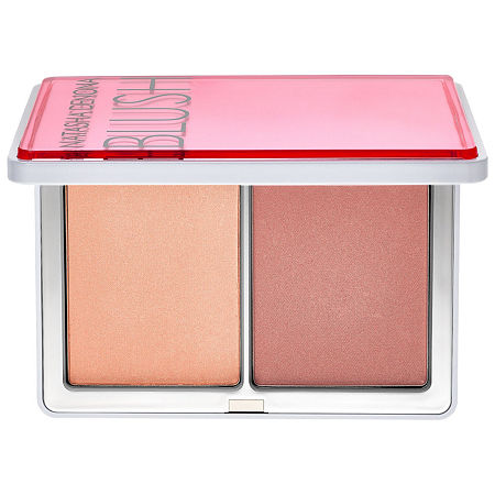 What it is: A blush duo with bold and subtle shades.What it does: The soft and silky texture of each shade in the Blush Duo brings a natural-looking and bright look to the skin\\\'s complexion. This duo blush palette provides a dominant color and a subtler color for blending and softening edges.What it is formulated WITHOUT:- Parabens- Sulfates- PhthalatesWhat else you need to know: This product is cruelty-free and free of allergens.Suggested Usage:-Using brush No. 17, apply the blush shade on the right side of the palette in circular motions on the apples of the cheeks.-Apply the shade on the left side of the palette to help blend and soften edges.-Size:0.5 oz/ 14 gIngredients: -Vitamin A and Vitamin E: Provides antioxidant benefits.-Spherical Silica: Delivers a smooth and blendable texture.