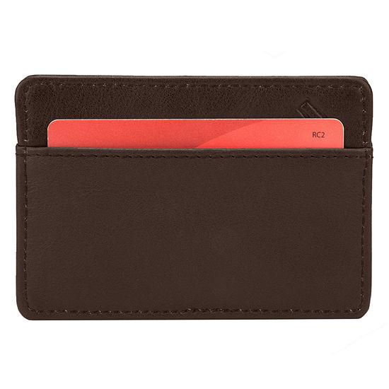 Travelon RFID Blocking Leather Card Sleeve