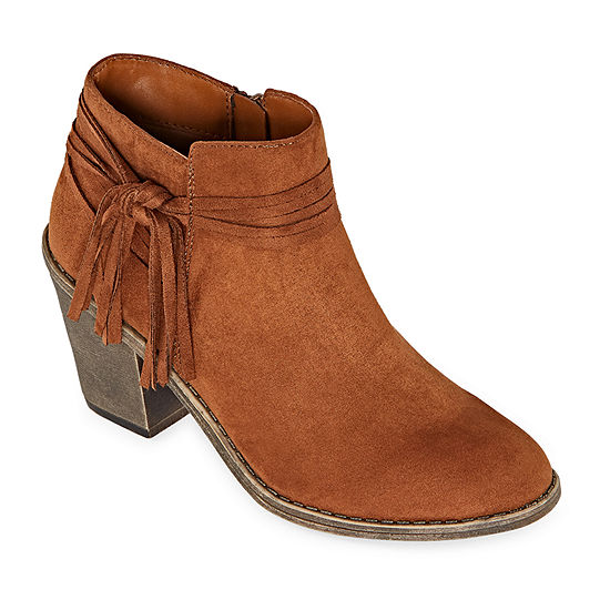 Arizona Womens Wane Block Heel Booties