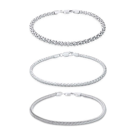 Made in Italy Sterling Silver 3-pc. Jewelry Set