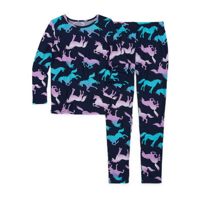 Arizona Little Kid / Big Kid Girls 2-pc. Pant Pajama Set