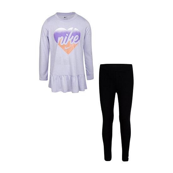 Nike Girls 2-pc. Legging Set-Preschool