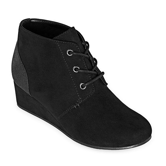 Arizona Girls Sydney Wedge Heel Booties