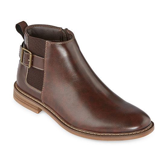 Arizona Mens Holland Flat Heel Chelsea Boots