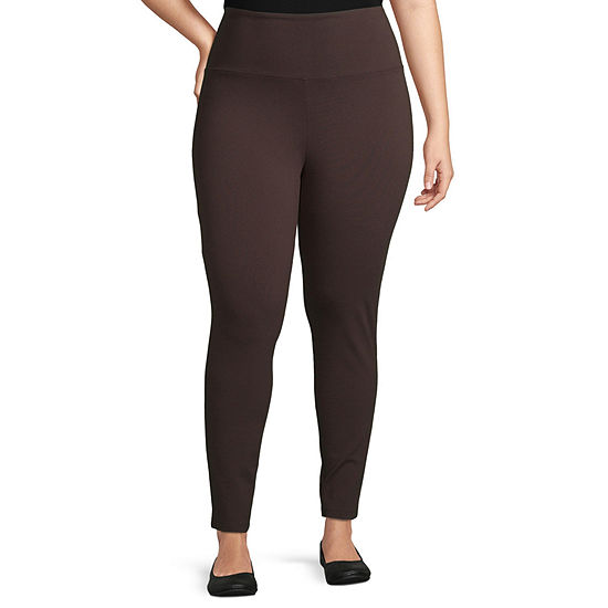 Liz Claiborne Ankle Legging- Plus