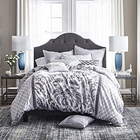 Deals on JCPenney Home Reverie 7-pc. Damask Scroll Comforter Set