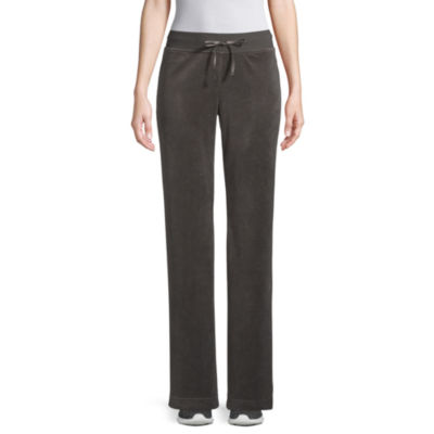 St. John's Bay Active Womens Straight Track Pant-Tall