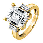 True Light Womens 5 CT. T.W. Lab Created White Moissanite 14K Gold Engagement Ring