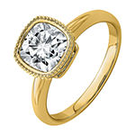 True Light Womens 3 CT. T.W. Lab Created White Moissanite 14K Gold Engagement Ring