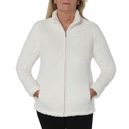 Cathy Daniels Rose Petal Knit Lightweight Track Jacket