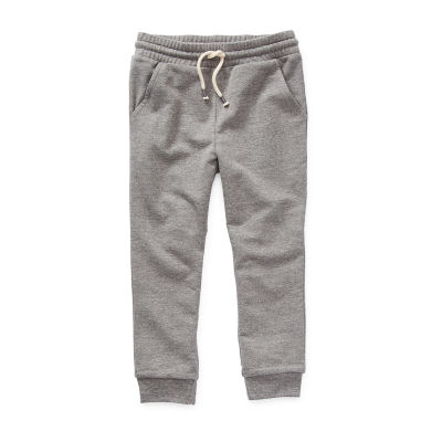 Okie Dokie Little Boys Mid Rise Cuffed Jogger Pant