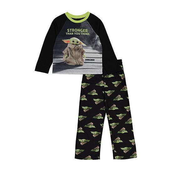 Disney Little & Big Boys 2-pc. Star Wars Pant Pajama Set