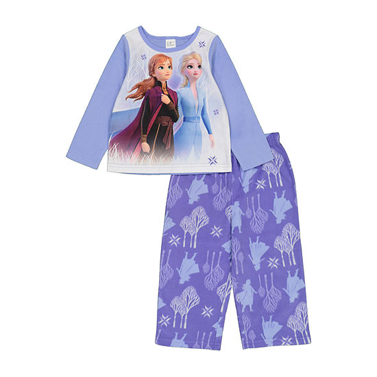 Disney Toddler Girls 2-pc. Frozen Pant Pajama Set