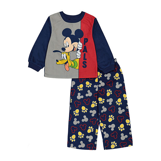 Disney Toddler Boys 2-pc. Mickey Mouse Pant Pajama Set