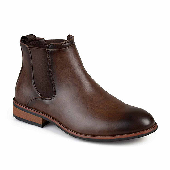 f2852c90d8220 Vance Co Landon Chelsea Mens Dress Boots JCPenney