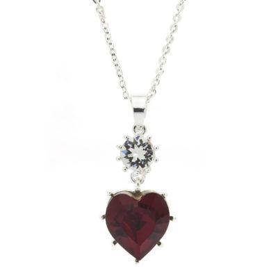 Sparkle Allure Womens Pendant Necklace