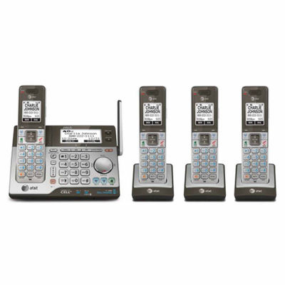 AT&T CLP99486 DECT 6.0 Connect-to-Cell 4 Handset Cordless Answering System