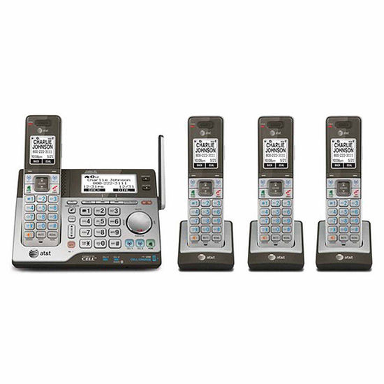 Att Clp99486 Dect 60 Connect To Cell 4 Handset Cordless Answering System