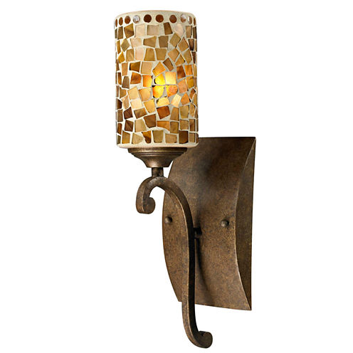 Dale Tiffany™ Knighton Mosaic Wall Sconce