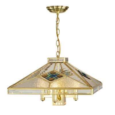 Dale Tiffany™ Clear Fused 4-Light Hanging Fixture