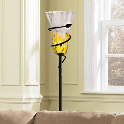 Dale Tiffany™ LED Spiral Leaf Torchiere
