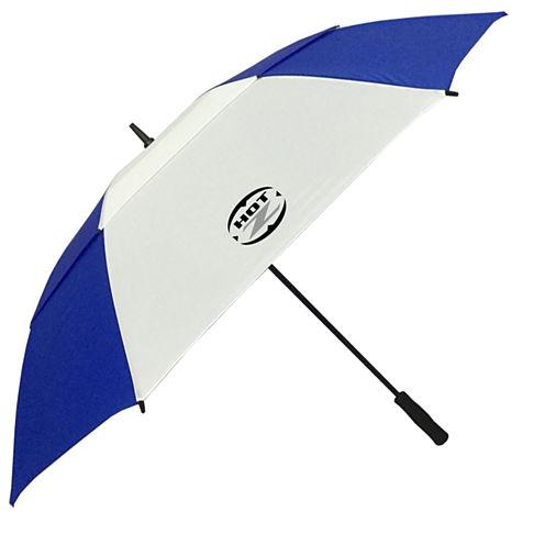 "Hot-Z 62"" Double Canopy Umbrellas *Blue/White*"