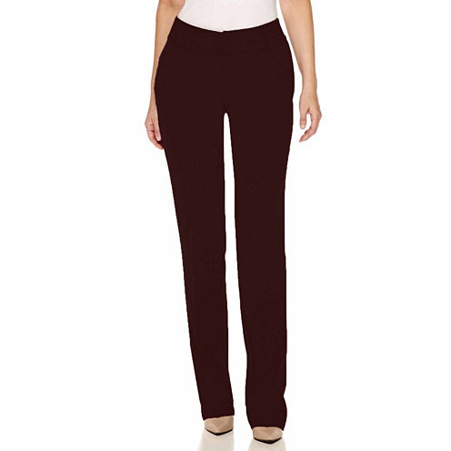 Worthington® Curvy Fit Straight Leg Pants