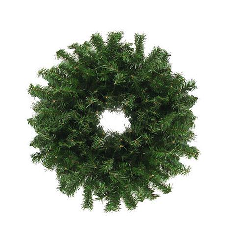 "30"" Unlit Canadian Pine Artificial Christmas Wreath"