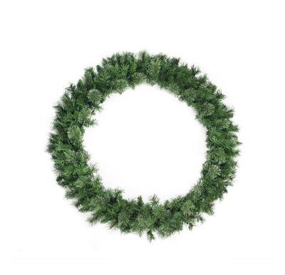 "48"" Unlit Atlanta Mixed Cashmere Pine Artificial Christmas Wreath"
