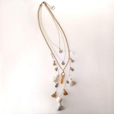 Bijoux Bar 34 Inch Chain Necklace