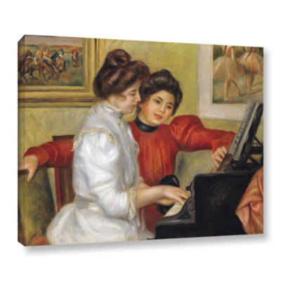 Brushstone Yvonne and Christine Lerolle at The Piano Gallery Wrapped Canvas Wall Art