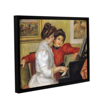 Brushstone Yvonne and Christine Lerolle at The Piano Gallery Wrapped Floater-Framed Canvas Wall Art