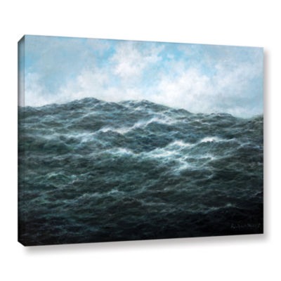 Brushstone Atlantic Ocean Gallery Wrapped Canvas Wall Art