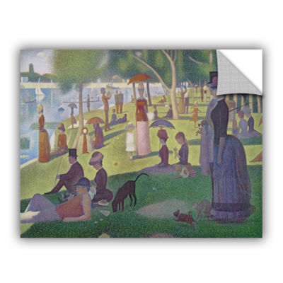 Brushstone A Sunday Afternoon On The Island of LaGrande Jatte Removable Wall Decal