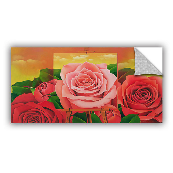Brushstone The Rose; 2004 Removable Wall Decal