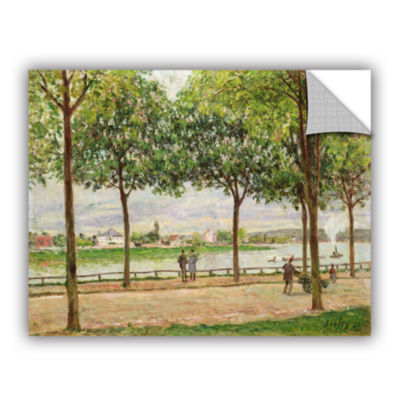Brushstone Les Promenade Des Marronniers; St Cloud;1878 Removable Wall Decal