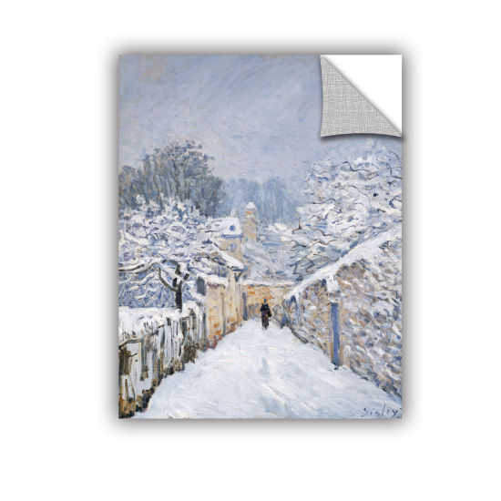 Brushstone Snow at Louveciennes Removable Wall Decal