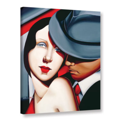 Brushstone Adam and Ever  Gangster Study Gallery Wrapped Canvas Wall Art