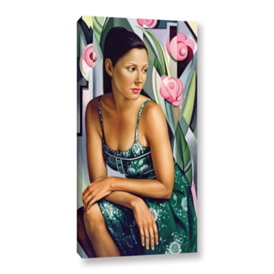Brushstone Belle du Jour Gallery Wrapped Canvas Wall Art