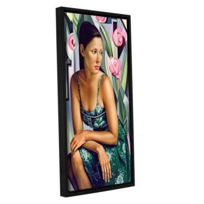 Brushstone Belle du Jour Gallery Wrapped Floater-Framed Canvas Wall Art