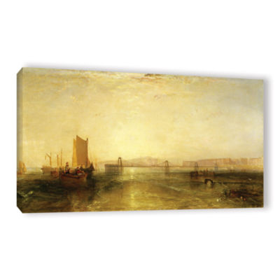 Brushstone Brighton From The Sea Gallery Wrapped Canvas Wall Art