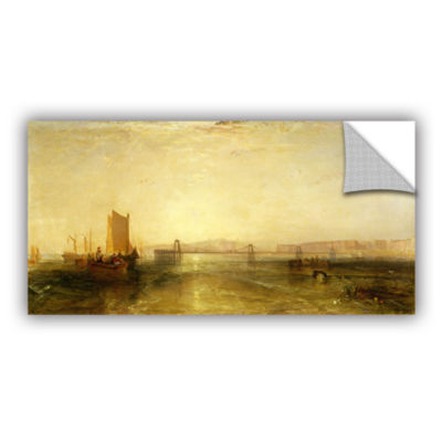Brushstone Brighton From The Sea Removable Wall Decal