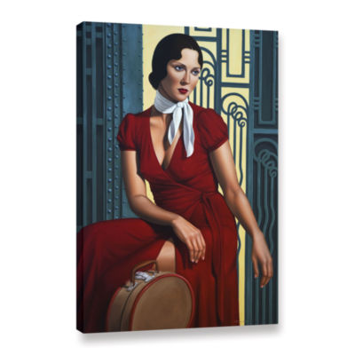 Brushstone Gare de I'Est Gallery Wrapped Canvas Wall Art