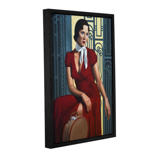 Brushstone Gare de I'Est Gallery Wrapped Floater-Framed Canvas Wall Art