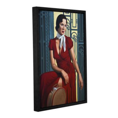 Brushstone Gare de I'Est Gallery Wrapped Floater-Framed Canvas