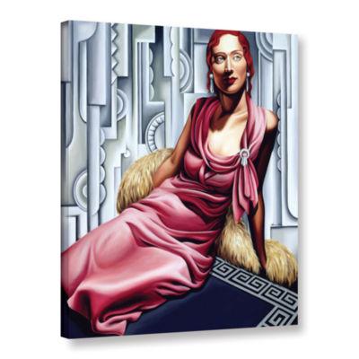 Brushstone La Vie en Rose Gallery Wrapped Canvas Wall Art
