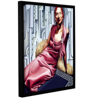 Brushstone La Vie en Rose Gallery Wrapped Floater-Framed Canvas Wall Art